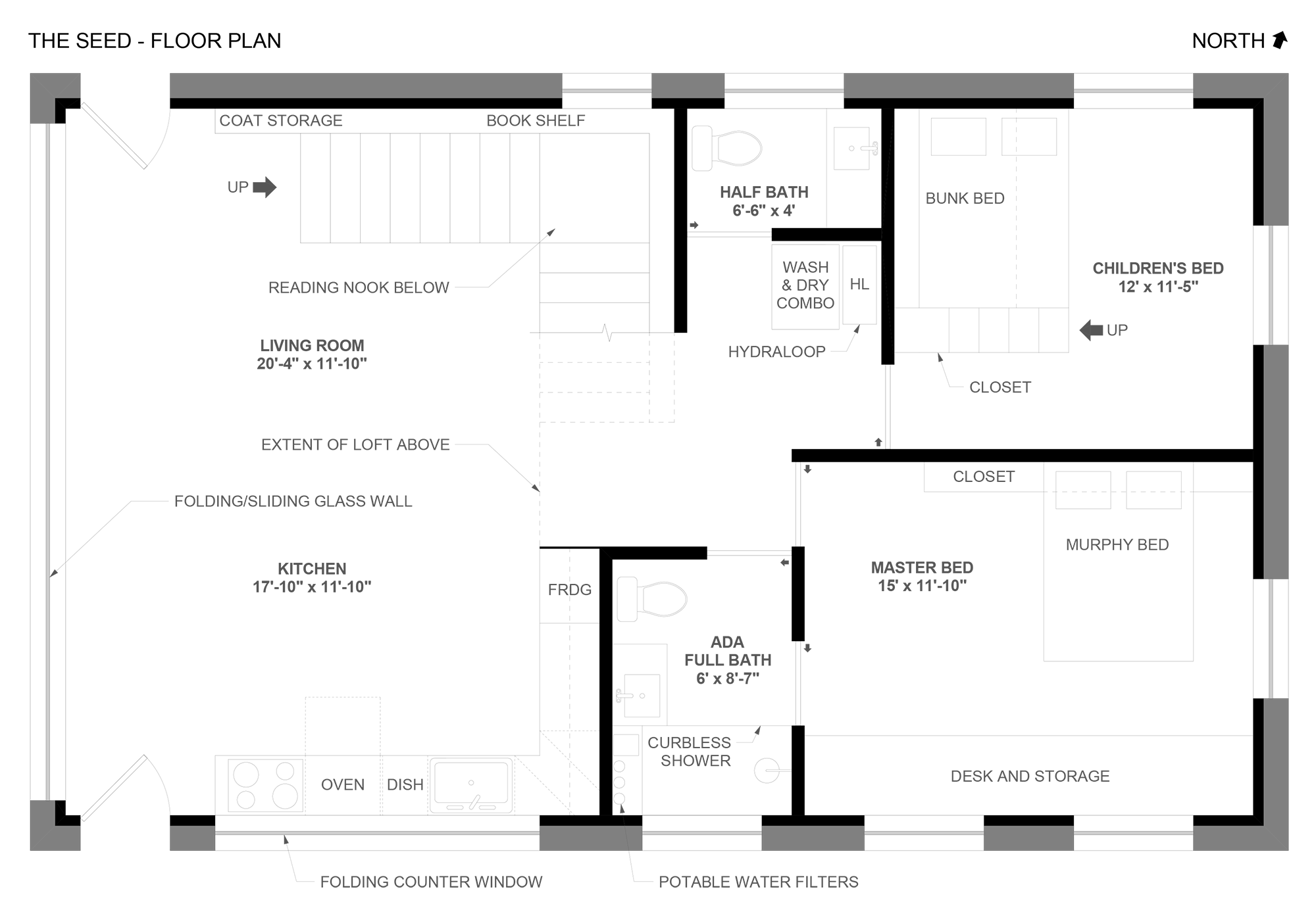 Floor Plan Round III, Accessibility Style